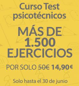 Curso Test Psicotécnicos - Más de 1500 ejercicios