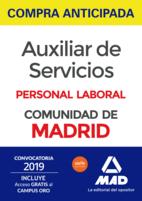 Compra anticipada Auxiliar de Servicios Personal Laboral de la Comunidad de Madrid. Incluye Temas 1 al 5 y test; Temas 6 al 9 y test (2º envío: 27/05/2019)
