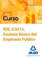 Curso RDL 5/2015, Estatuto Básico del Empleado Público