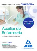Auxiliar de Enfermería de Osakidetza-Servicio Vasco de Salud. Test General