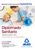 Diplomado Sanitario de Osakidetza-Servicio Vasco de Salud. Temario común y test