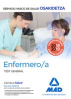 Enfermero/a de Osakidetza-Servicio Vasco de Salud. Test General