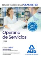 Operario/a de Servicios de Osakidetza-Servicio Vasco de Salud. Test