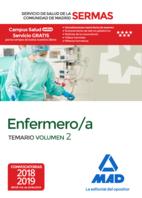 Enfermero/a del Servicio de Salud de la Comunidad de Madrid. Temario Volumen 2