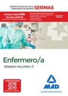 Enfermero/a del Servicio de Salud de la Comunidad de Madrid. Temario Volumen 4