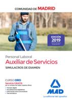Auxiliar de Servicios. Personal Laboral de la Comunidad de Madrid Simulacros de examen