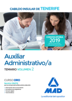 Auxiliar Administrativo/a del Cabildo Insular de Tenerife. Temario volumen 2
