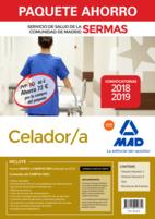 Paquete Ahorro Celador/a Servicio de Salud de la Comunidad de Madrid. Ahorro de 72 € (incluye Temarios 1 y 2; Test; Simulacros de Examen y acceso a Campus Oro)