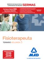 Fisioterapeuta del Servicio de Salud de la Comunidad de Madrid. Temario Volumen 3