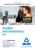 Auxiliar Administrativo de la Administración General del Estado (Turno libre). Test