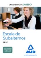 Escala de Subalternos de la Universidad de Oviedo. Test
