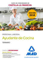 Ayudante de Cocina (Personal Laboral de la Junta de Comunidades de Castilla-La Mancha). Temario