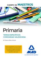 Cuerpo de Maestros Primaria. Temas específicos Comunidad Valenciana