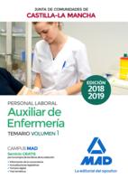 Auxiliar de Enfermería (Personal Laboral de La Junta de Comunidades de Castilla-La Mancha). Temario Volumen 1