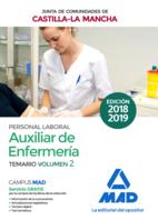 Auxiliar de Enfermería (Personal Laboral de La Junta de Comunidades de Castilla-La Mancha). Temario Volumen 2