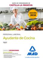 Ayudante de Cocina (Personal Laboral de la Junta de Comunidades de Castilla-La Mancha). Test