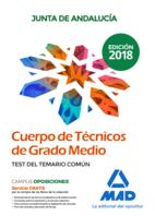 Cuerpo de Técnicos de Grado Medio de la Junta de Andalucía. Test del Temario Común