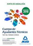 Cuerpo de Ayudantes Técnicos de la Junta de Andalucía. Test del Temario Común
