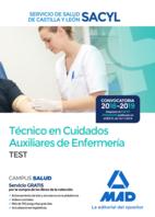 Técnico en Cuidados Auxiliares de Enfermería del Servicio de Salud de Castilla y León (SACYL). Test