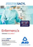 Enfermero/a del Servicio de Salud de Castilla y León (SACYL). Temario volumen 1
