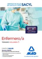 Enfermero/a del Servicio de Salud de Castilla y León (SACYL). Temario volumen 3