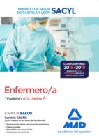 Enfermero/a del Servicio de Salud de Castilla y León (SACYL). Temario volumen 4