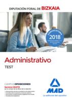 Administrativo de la Diputación Foral de Bizkaia. Test