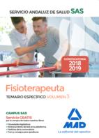 Fisioterapeuta del Servicio Andaluz de Salud. Temario específico volumen 3