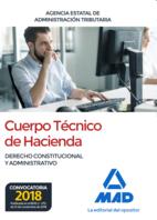 Cuerpo Técnico de Hacienda. Agencia Estatal de Administración Tributaria. Derecho Constitucional y Administrativo