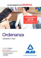 Ordenanza del Ayuntamiento de Murcia. Temario y test