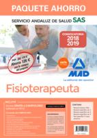 Paquete Ahorro Fisioterapeuta del Servicio Andaluz de Salud. Ahorra 126 € (incluye Temario Común y Test; Temarios específicos 1, 2, y 3; Test específico y casos prácticos; y acceso a Campus Oro)