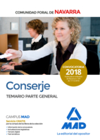 Conserje de la Comunidad Foral de Navarra. Temario Parte General