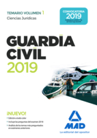 Guardia Civil. Ciencias Jurídicas Temario Volumen 1