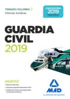 Guardia Civil. Ciencias Jurídicas Temario Volumen 2