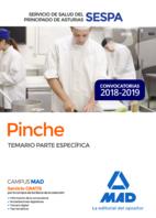 Pinche del Servicio de Salud del Principado de Asturias (SESPA). Temario Parte Específica