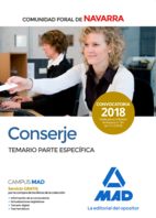 Conserje de la Comunidad Foral de Navarra. Temario Parte Específica