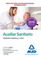 Auxiliar sanitario del Instituto Foral de Asistencia Social de Bizkaia (IFAS). Temario general y test