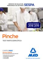 Pinche del Servicio de Salud del Principado de Asturias (SESPA). Test Parte Específica