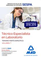 Técnico Especialista en Laboratorio del Servicio de Salud del Principado de Asturias (SESPA). Temario Parte Específica Volumen 1