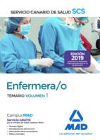 Enfermera/o del Servicio Canario de Salud. Temario volumen 1