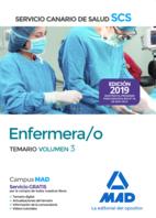 Enfermera/o del Servicio Canario de Salud. Temario volumen 3