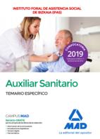 Auxiliar sanitario del Instituto Foral de Asistencia Social de Bizkaia (IFAS). Temario específico