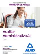 Auxiliar Administrativo/a del Ayuntamiento de Torrejón de Ardoz. Test