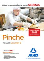 Pinche del Servicio Madrileño de Salud. Volumen 2