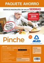 Paquete Ahorro Pinche del Servicio Madrileño de Salud. Ahorro de 42 € (incluye Temario volúmenes 1 y 2, Test, y acceso a Campus Oro)