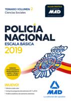 Policía Nacional Escala Básica. Temario Volumen 2 Ciencias Sociales