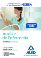 Auxiliar de Enfermería del Instituto Nacional de Gestión Sanitaria (INGESA). Temario volumen 1