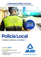 Policía Local. Temario General Volumen 1