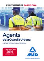 Agents de La Guàrdia Urbana de L'Ajuntament de Barcelona. Prova de cultura general