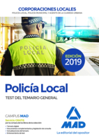 Policía Local. Test del Temario General